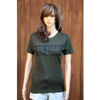 "T-Shirt ""FSV UNION"" Damen - combat green"